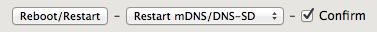 mDNS/DNS-SD Enabled Config