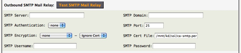 SMTP Mail Relay